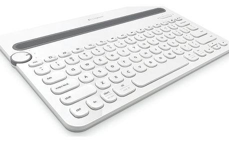 Klávesnice Logitech K480 US (920-006367) bílá