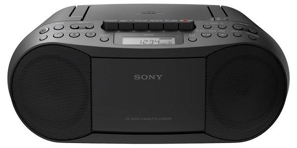 Radiopřijímač s CD Sony CFD-S70B černý2