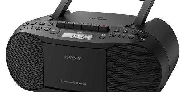 Radiopřijímač s CD Sony CFD-S70B černý3