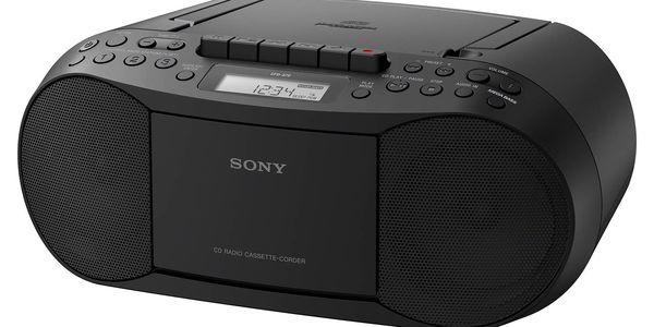 Radiopřijímač s CD Sony CFD-S70B černý4