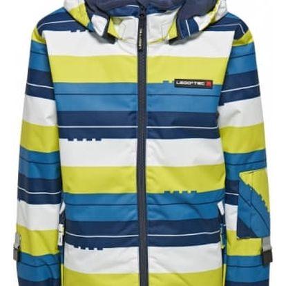 Chlapecká lyžařská bunda LEGO® Wear JAZZ 775 Proužek 140