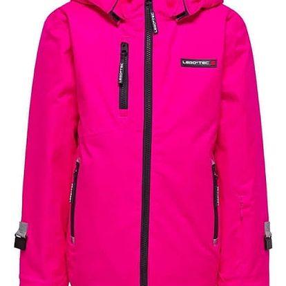 Dívčí lyžařská bunda LEGO® Wear JENNY 880 Růžová 152