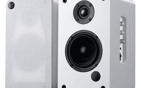 Reproduktory Fenda F&D R30BT 2.0, bluetooth (R30BT (white)) bílé/dřevo + DOPRAVA ZDARMA