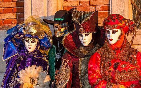 3denní výlet do Italských Benátek na karneval - leden/únor
