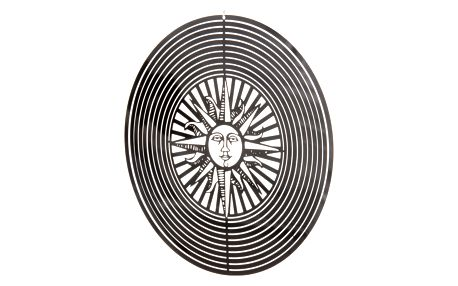 Závěsná dekorace Cosmo Spinner slunce