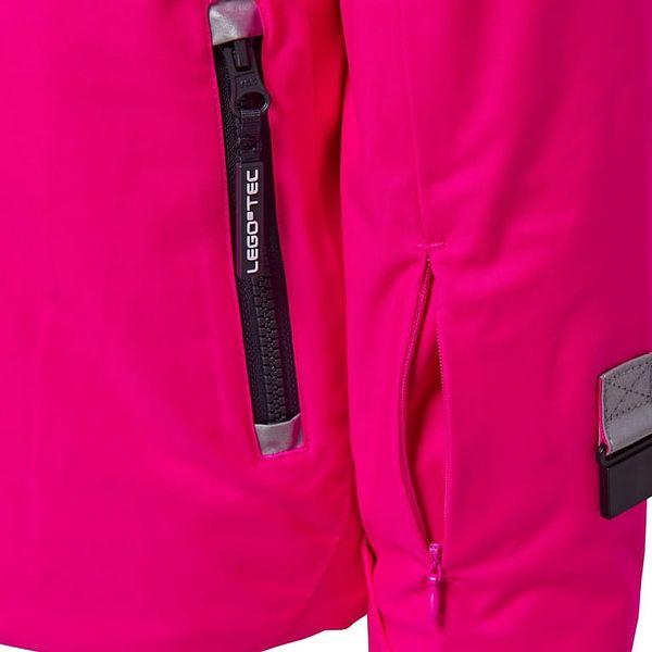 Dívčí lyžařská bunda LEGO® Wear JENNY 880 Růžová 1522