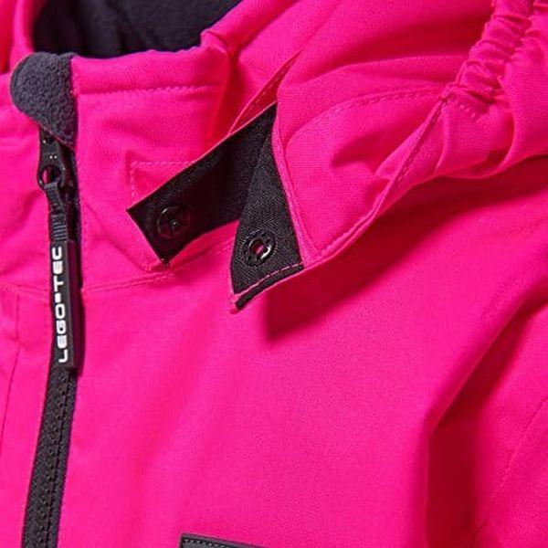 Dívčí lyžařská bunda LEGO® Wear JENNY 880 Růžová 1523