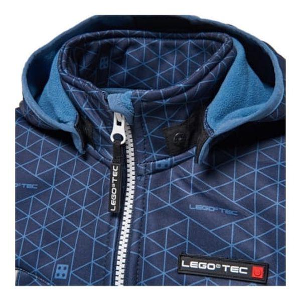 Chlapecká softshellová bunda LEGO® Wear SAXTON 774 Modrá 1522