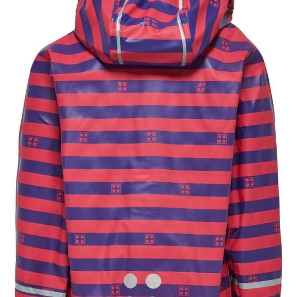 Dívčí bunda do deště LEGO® Wear JAMAICA 102 Růžová 1165