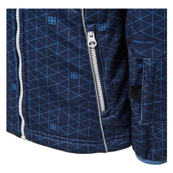 Chlapecká softshellová bunda LEGO® Wear SAXTON 774 Modrá 1523