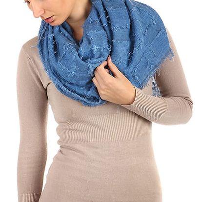 Čtvercový šátek modrá