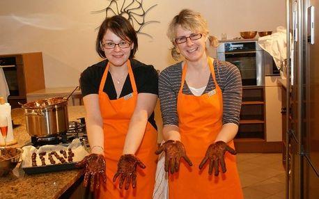 Kurz vaření Brno - Fenomén čokoláda - Luxusní dárkové balení