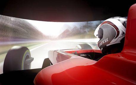 Závodní simulátor F1 Praha - Luxusní dárkové balení