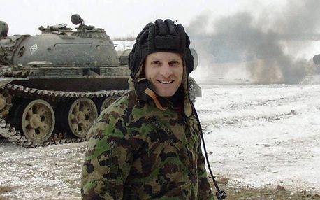 Projížďka v bojovém tanku - Luxusní dárkové balení