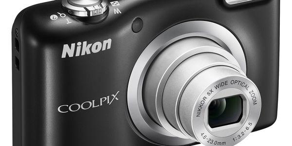 Digitální fotoaparát Nikon Coolpix A10 černý5