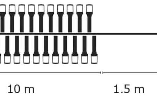 Vánoční osvětlení EMOS 200 LED, 10m, řetěz, multicolor (1534210090)5