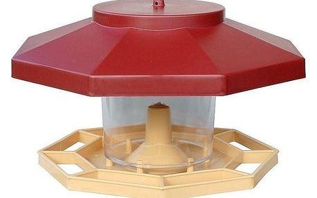 Krmítko pro ptáky FRANKEN plastové 30cm, červená
