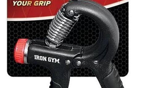 Posilovač Iron Gym Hand Grip, nastavitelný černý