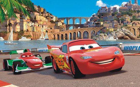 Cars Auta Disney papírová fototapeta