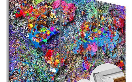 Obraz na korku - Colourful Whirl 120x80 cm