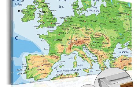 Bimago Obraz na korku - Europe 120x80 cm