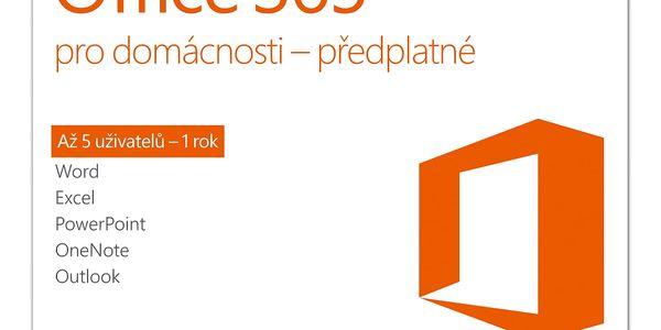Software Microsoft pro domácnosti CZ (6GQ-00721)2