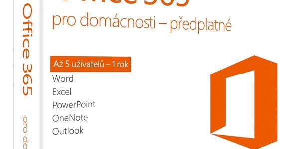 Software Microsoft pro domácnosti CZ (6GQ-00721)4
