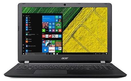 Notebook Acer ES 15 (ES1-533-C6HK) (NX.GFTEC.007) černý + DOPRAVA ZDARMA