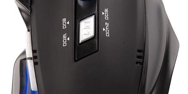 Myš C-Tech Akantha GM-01 (GM-01) černá / optická / 6 tlačítek / 2400dpi2