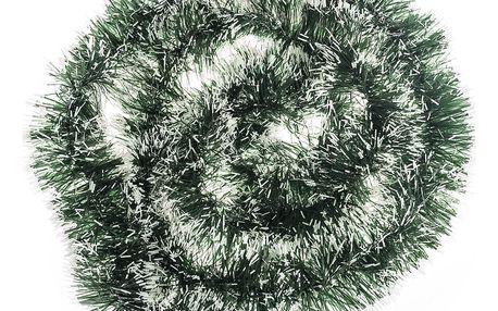 HTH Girlanda 5vrstvá 2 m zeleno-bílá