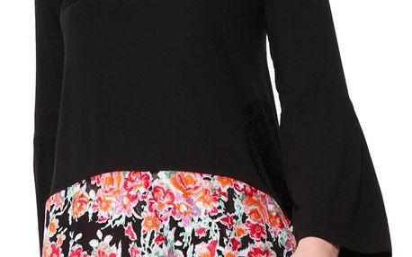 Desigual černé dámské triko Audrey