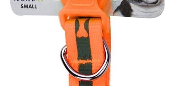 Obojek pro psa Neon oranžová, vel. S, S2