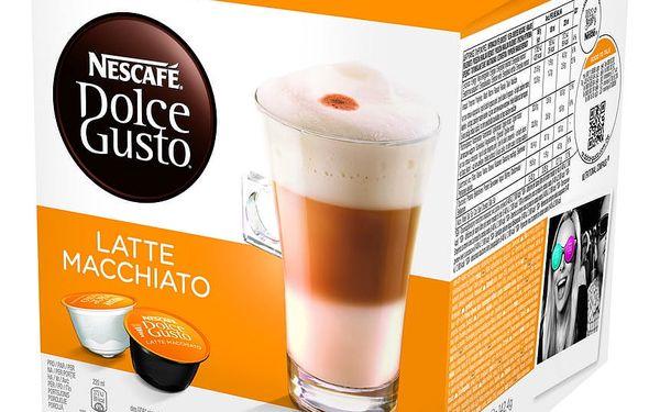 Kapsle pro espressa Nescafé Dolce Gusto LATTÉ MACCHIATTO2