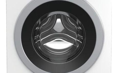 Automatická pračka se sušičkou Beko HTV 8733 XS0 stříbrná/bílá + DOPRAVA ZDARMA