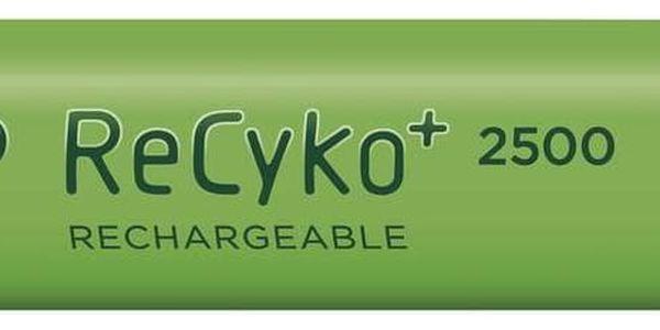Baterie nabíjecí GP AA, HR06, 2500mAh, Ni-MH, krabička 4ks (1032214113)2