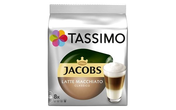 Set (3x Kapsle pro espressa Tassimo Jacobs Krönung Latte Macchiato 264g)