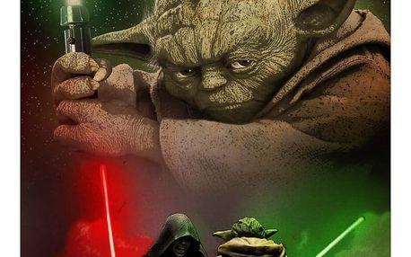 Nástěnná cedule Duel of the Fates - Yoda