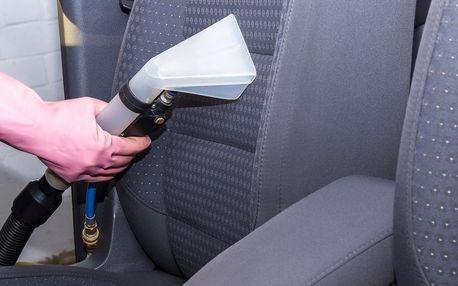 Tepování sedaček, kufru a dveří vč. dezinfekce