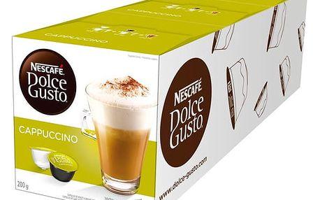 Set (3x Kapsle pro espressa Nescafé Dolce Gusto CAPPUCCINO)