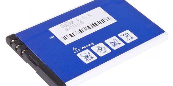 Baterie Avacom pro Nokia 5530, CK300, E66, 5530, E75, 5730, Li-Ion 1120mAh (náhrada BL-4U) (GSNO-BL4U-S1120A)2