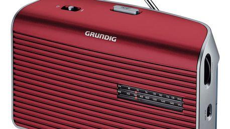 Přenosné radio Grundig Music 60 Red - poškozený obal