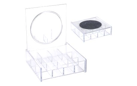 Koopman kosmetický organizér se zrcátkem, 14 x 14 cm