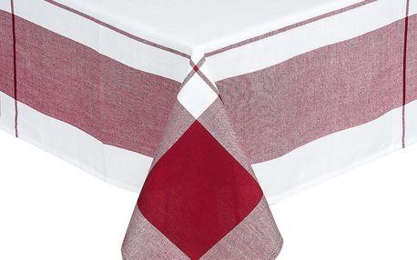 Forbyt Ubrus kostka bordó, 140 x 180 cm