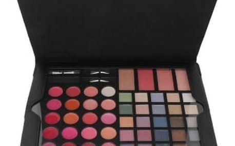 2K iCatching Pad Palette dárková kazeta pro ženy Complete Makeup Palette Black