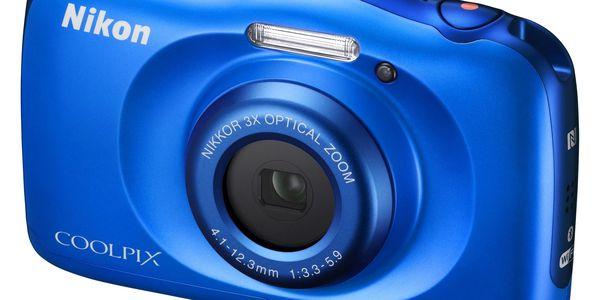 Digitální fotoaparát Nikon W100 BACKPACK KIT (VQA011K001) modrý3
