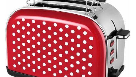 Kalorik TO 1045 RWD Topinkovač celonerezový Red Dots