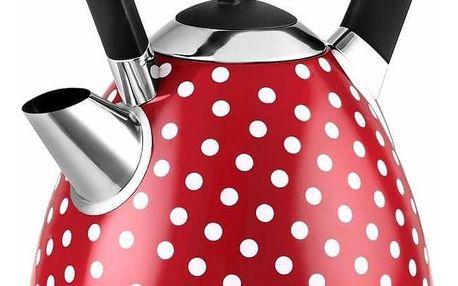 Kalorik JK 1045 RWD Rychlovarná konvice Red Dots, 1,7 l