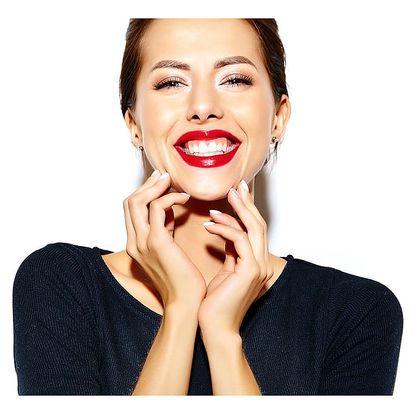 Neperoxidové bělení zubů s vybělení o 2-8 odstínů