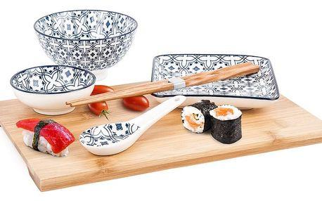 6dílná Sushi sada Wuhan