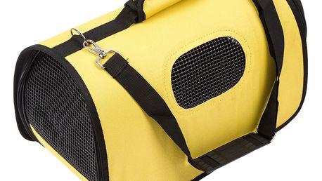 Transportní taška na domácího mazlíčka, žlutá